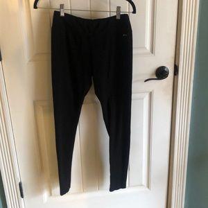 Women's black cotton Jockey pants.